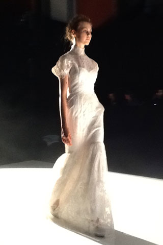 Bridal fashion: David Fielden's Sposa 2013 to Celebrating ...